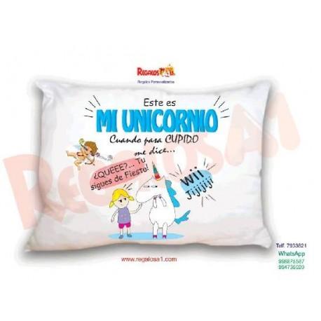 Almohada Unicornio Mod 3