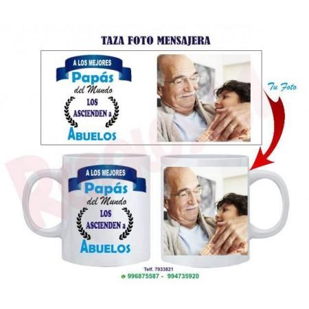 Taza Mensajera Abuelo Mod. 2