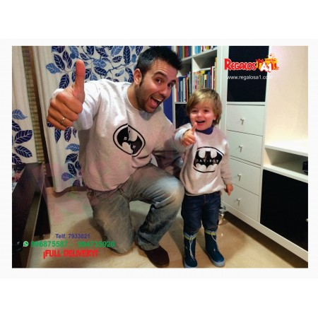 Polo Padre e Hijo Batman. Mod.2