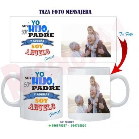 Taza Mensajera Abuelo. Mod 4